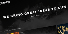more best dark wordpress themes feature