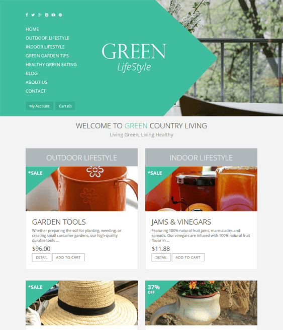 ot greenliving virtuemart themes