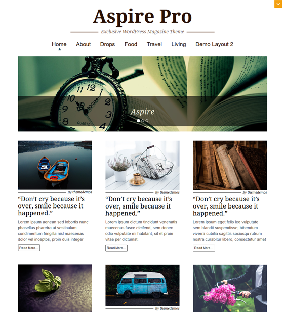 aspire pro magazine news wordpress themes