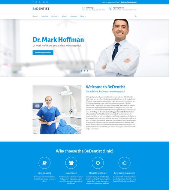 medical bootstrap templates doctors therapists hospitals plastic surgeons dentists clinics