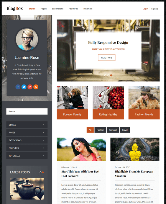 blogbox magazine news wordpress themes