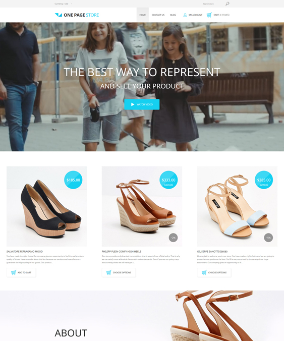 shoe store shopify themes