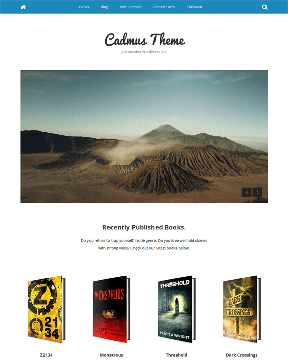 cadmus book wordpress themes