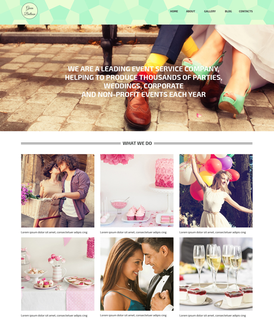 memorable events wordpress themes