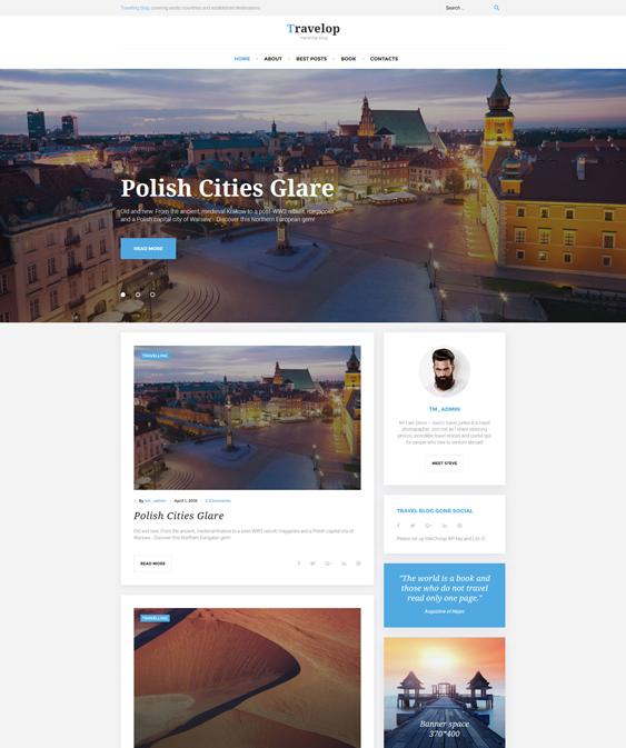 travelop travel wordpress themes