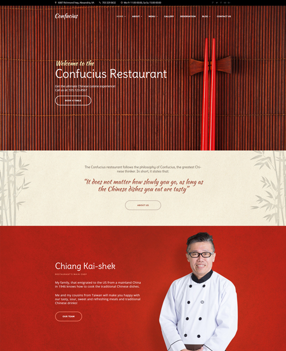asian restaurant wordpress themes