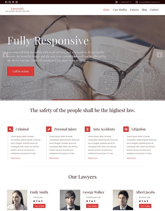 lawyeria lawyers attorneys wordpress themes