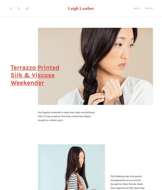 lorenza handmade responsive shopify themes