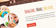 playful wordpress themes kids babies feature