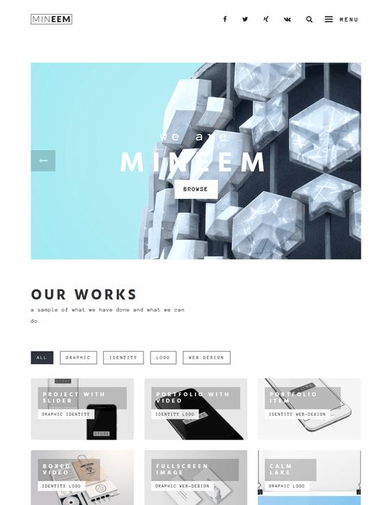 mineem masonry wordpress themes