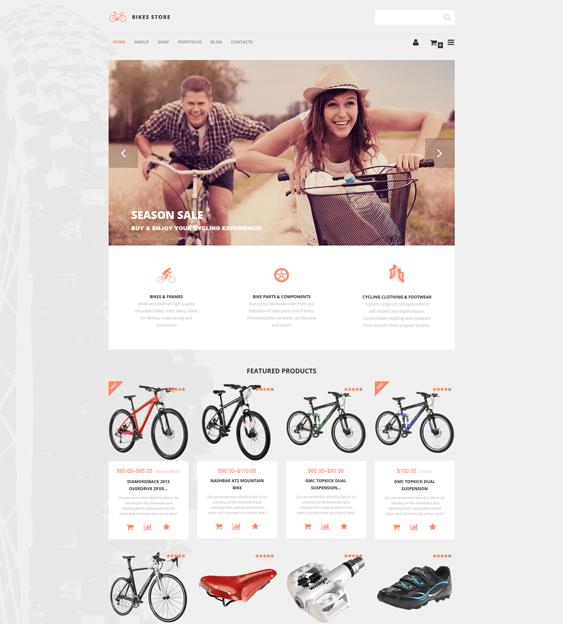 bikes sports woocommerce themes