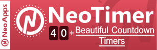 neotimer shopify apps countdown timers