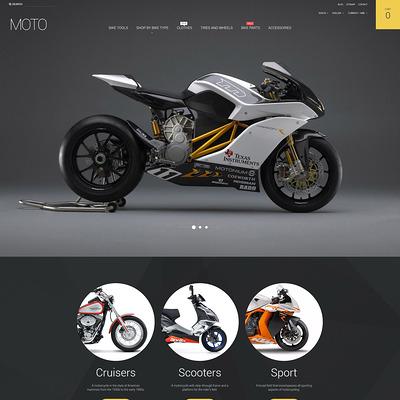 Moto PrestaShop Theme (PrestaShop theme for car, vehicle, and automotive stores) Item Picture