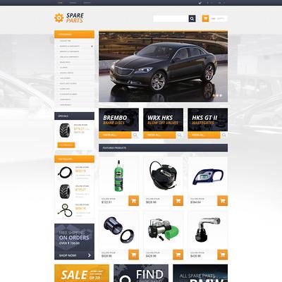 Spares that Serve for Ages PrestaShop Theme (PrestaShop theme for car, vehicle, and automotive stores) Item Picture
