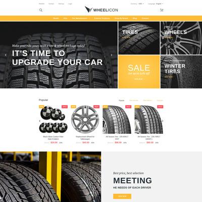 Wheelicon PrestaShop Theme (PrestaShop theme for car, vehicle, and automotive stores) Item Picture