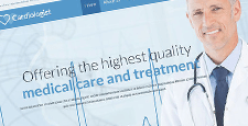 best medical bootstrap website templates feature