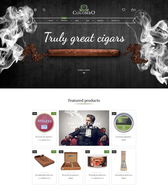 tobacco responsive shopify themes 2017