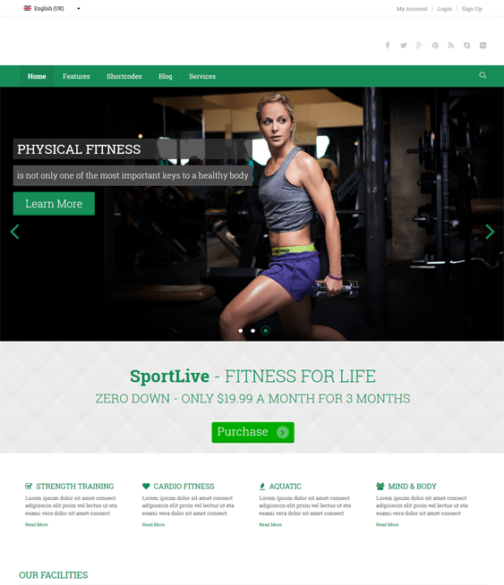 zt sports joomla templates live
