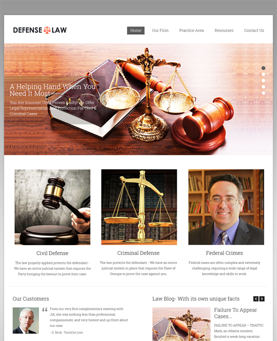 defense wordpress themes lawyers attorneys legal