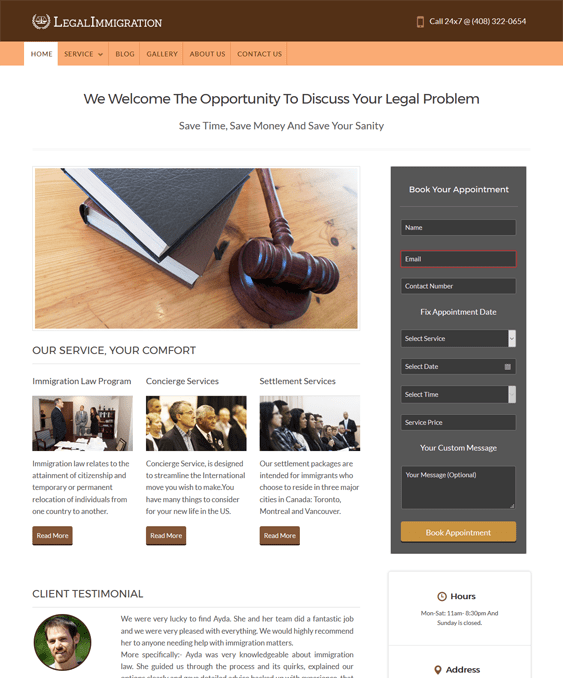 10 of the Best WordPress Themes for Lawyers, Attorneys, & Legal ...