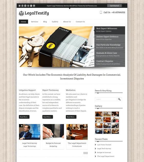 legaltestify wordpress themes lawyers attorneys legal