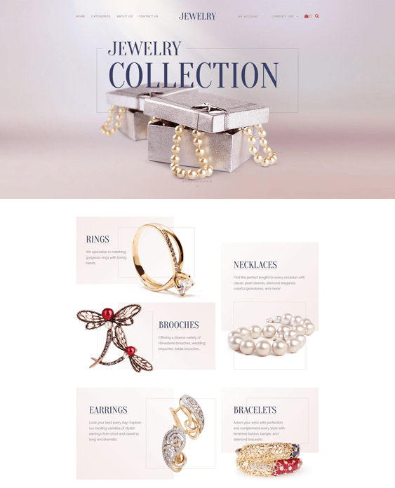 jewelry clean shopify themes