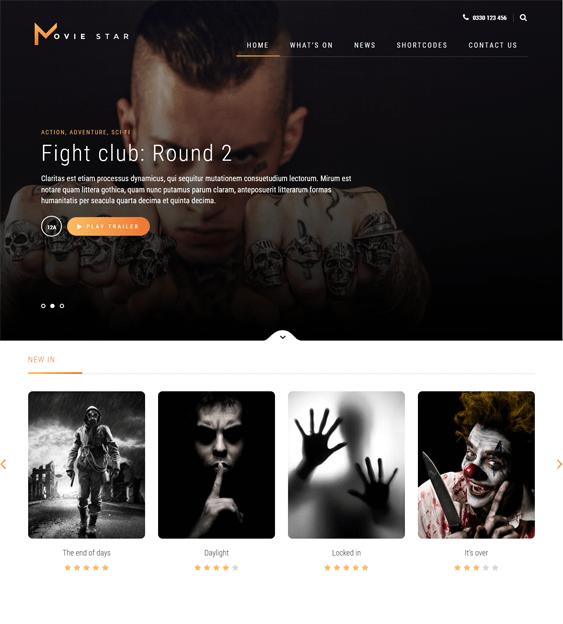 5 of the Best WordPress Themes for TV & Movie Websites – <br />down