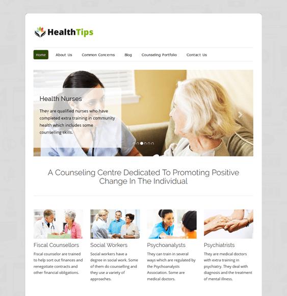 healthtips health wellness nutrition wordpress themes