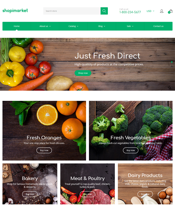 food store drink shopify themes