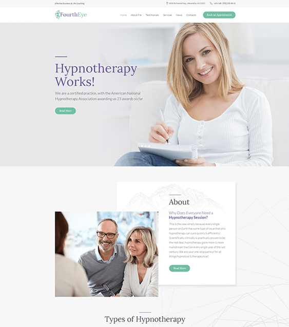 fourth eye medical wordpress themes doctors clinics feature