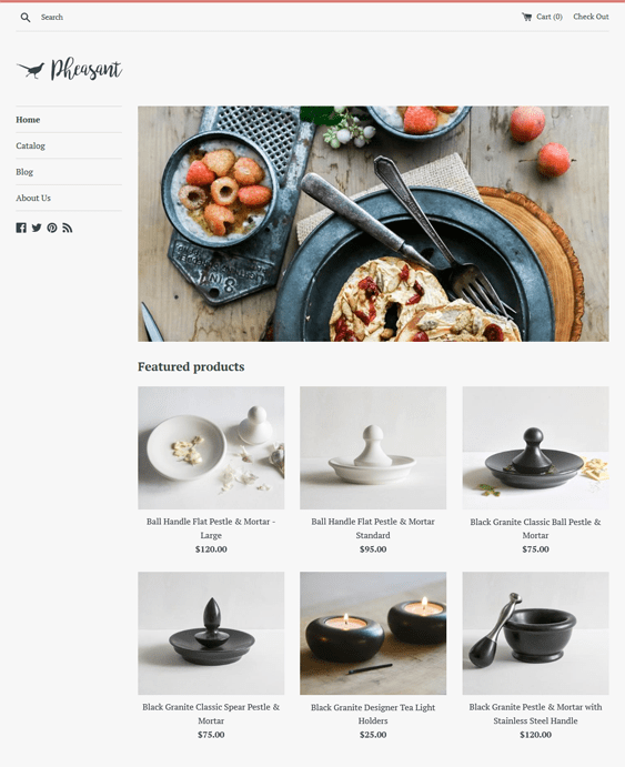 simple shopify themes interior design home decor stores