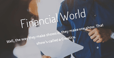 best finance wordpress themes feature