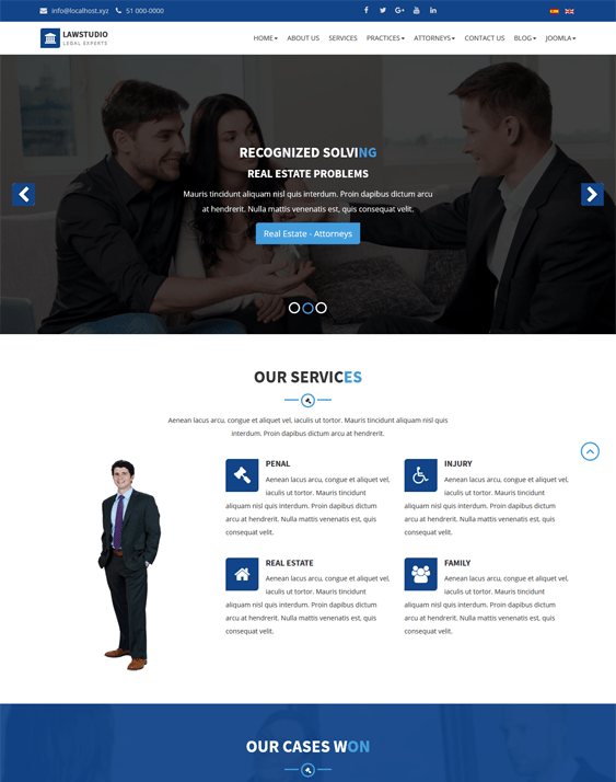 lawstudio law firm lawyers attorneys joomla templates