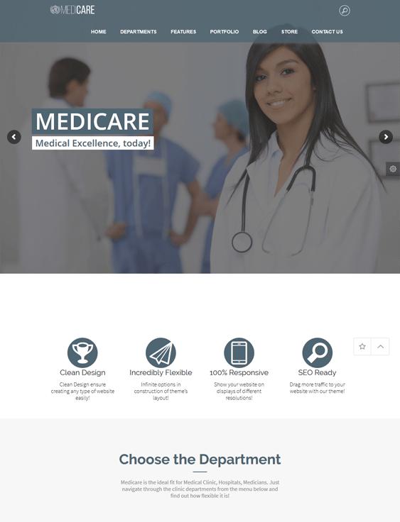medicare medical wordpress themes