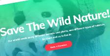 best wordpress themes wildlife park charity feature