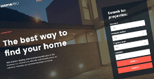 best real estate bootstrap website templates feature
