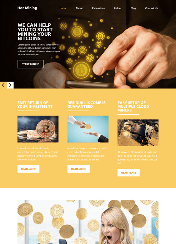 5 of the Best Joomla & WordPress Themes for Bitcoin
