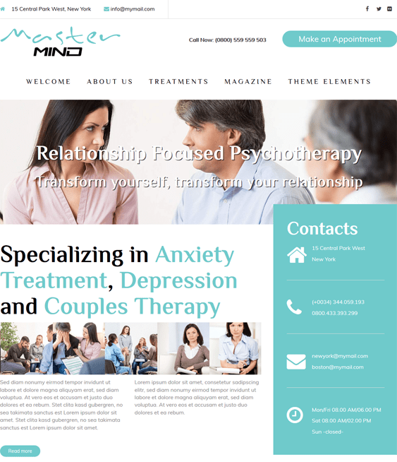 masterrmind medical wordpress themes