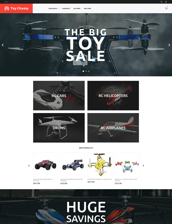 Toy Champ Responsive baby kids children Magento Themes