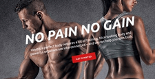 best bootstrap website templates gym fitness feature