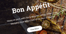best restaurant joomla templates feature