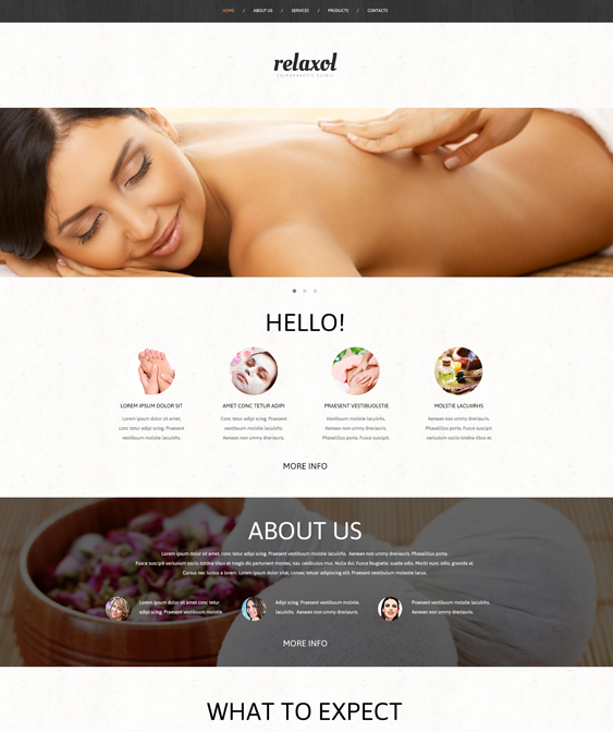 6 of the Best Bootstrap Website Templates for Massage ...