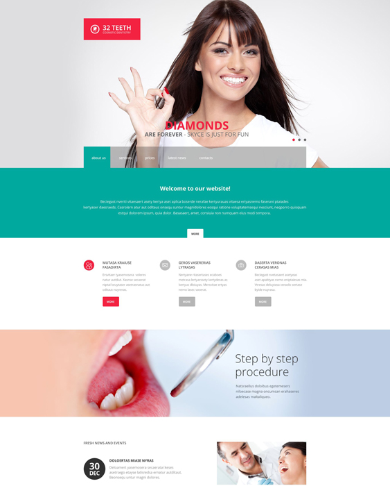 7 Of The Best Bootstrap Website Templates For Dentists Dental