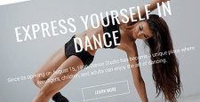 best bootstrap website templates dance teachers dance schools feature