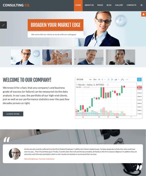 financial joomla templates finance websites