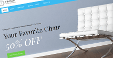 best furniture wordpress themes feature