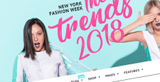 best wordpress theme fashion blogs feature