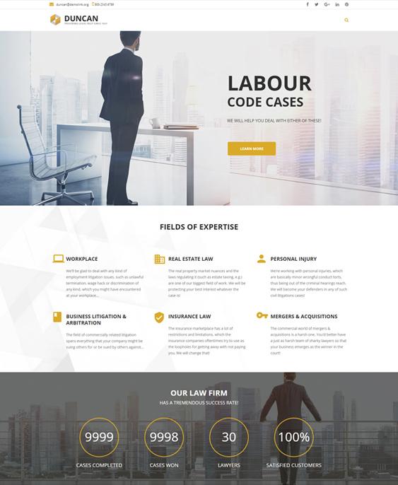 wordpress themes lawyers law firms attorneys