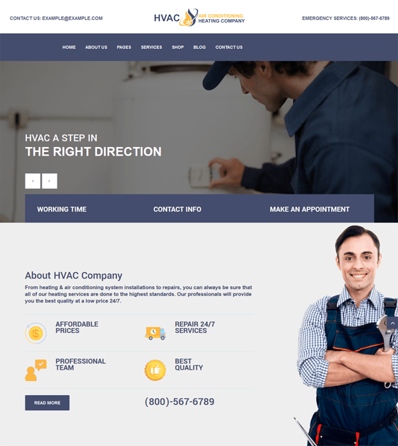 best wordpress themes construction companies building contractors