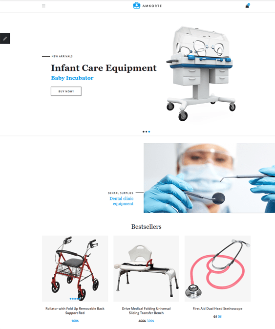 health medical opencart themes